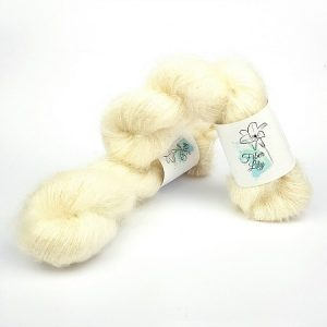 Bare Super Kid Mohair Silk by Fiber Lily hand dyed yarn Australia for knitting and crochet