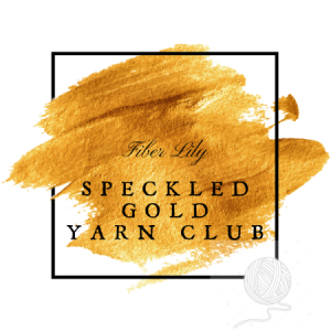 Speckled Gold Yarn Club by Fiber Lily hand dyed yarn Australia for knitting and crochet