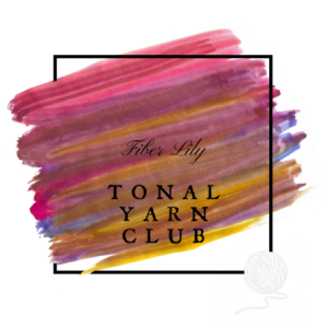 Tonal Yarn Club by Fiber Lily hand dyed yarn Australia for knitting and crochet