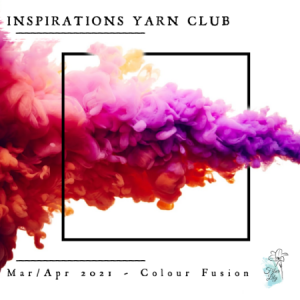 Mar Apr Inspo Club Graphic by Fiber Lily Australia hand dyed yarn