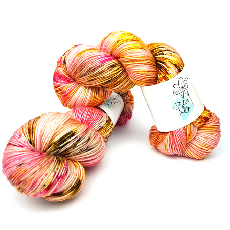FL Spring 2021 Hand Dyed Yarn by Fiber Lily Australia FL Seasons Collection